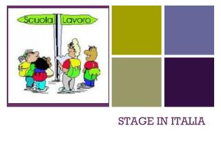 STAGE IN ITALIA