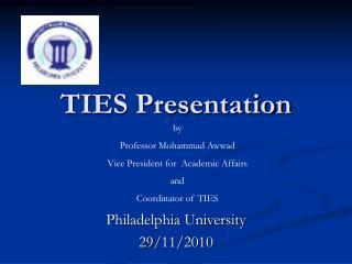 TIES Presentation