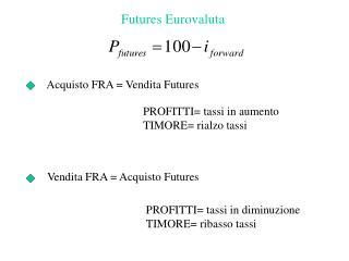 Futures Eurovaluta