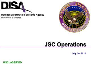JSC Operations
