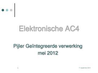 Elektronische AC4
