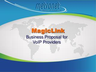 Business Proposal for  VoIP Providers