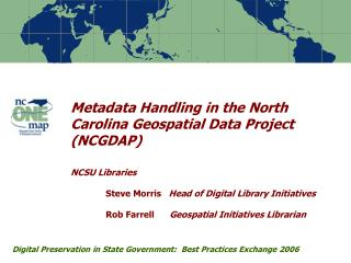 Digital Preservation in State Government:  Best Practices Exchange 2006
