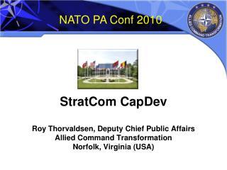 NATO PA Conf 2010