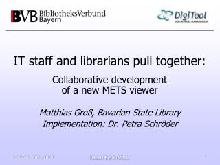 IT staff and librarians pull together: