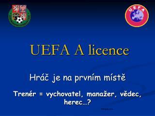 UEFA A licence