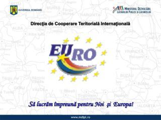 Direcţia  de  Cooperare Teritorială Internaţională