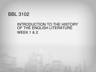 BBL 3102