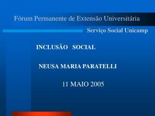 Fórum Permanente de Extensão Universitária
