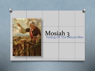 Mosiah 3