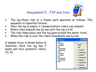 Assignment 5 - FSP and Java