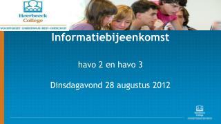 Informatiebijeenkomst