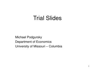 Trial Slides