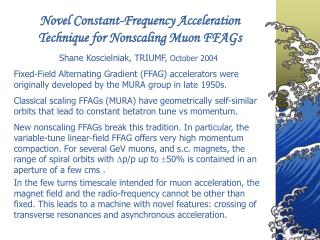 Novel Constant-Frequency Acceleration Technique for Nonscaling Muon FFAGs