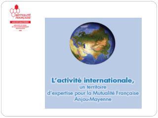 L ' Europe Le Réseau Francophone en Déficience Sensorielle et du Langage (Québec) L ' Afrique