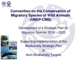 Convention on the Conservation of Migratory Species of Wild Animals (UNEP/CMS)
