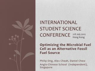 International Student Science Conference