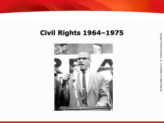 Civil Rights 1964–1975