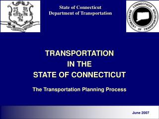 State of Connecticut Department of Transportation