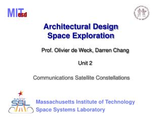 Architectural Design Space Exploration