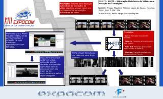 PROJETO:  M-FIT – Editoração Eletrônica de Vídeos com Detecção de Transições.