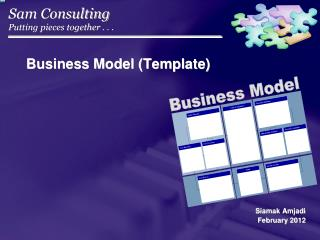 Business Model (Template)
