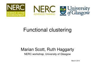Functional clustering
