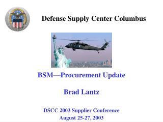 Defense Supply Center Columbus