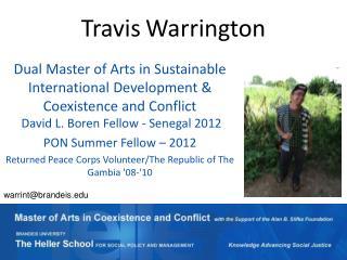 Travis Warrington