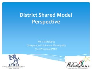 District Shared Model Perspective