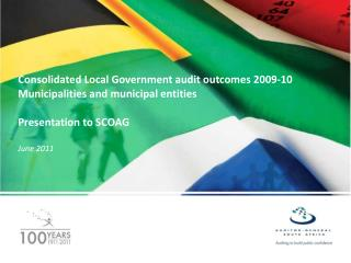 Consolidated Local Government audit outcomes 2009-10 Municipalities and municipal entities