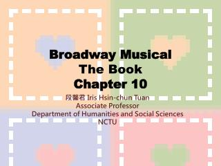 Broadway Musical The Book Chapter 10
