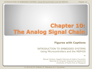 Analog Signal Chain Overview