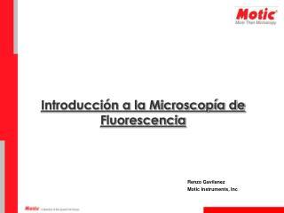 Introducci�n a la Microscop�a de Fluorescencia