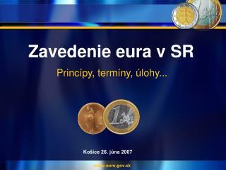 Zavedenie eura v SR