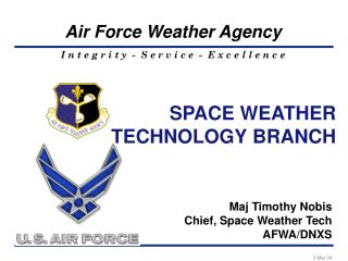 SPACE WEATHER TECHNOLOGY BRANCH