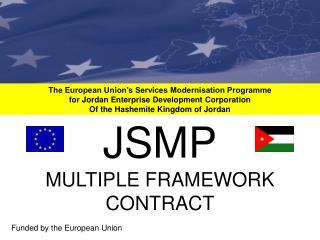 The European Union's Services Modernisation Programme