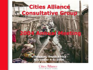Cities Alliance Consultative Group