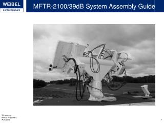 MFTR-2100/39dB System Assembly Guide