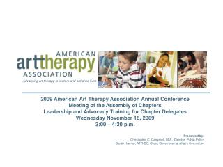 2009 American Art Therapy Association Annual Conference Meeting of the Assembly of Chapters