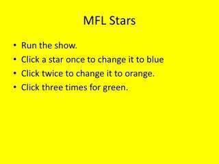 MFL Stars