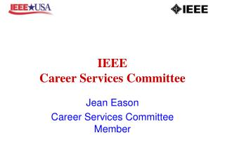 IEEE Career Services Committee