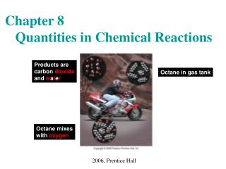 Chapter 8    Quantities in Chemical Reactions