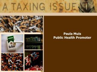 Paula Muis Public Health Promoter