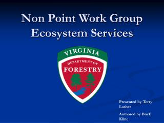 Non Point Work Group Ecosystem Services