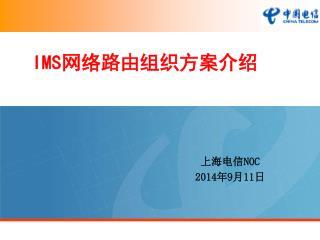 IMS网络路由组织方案介绍