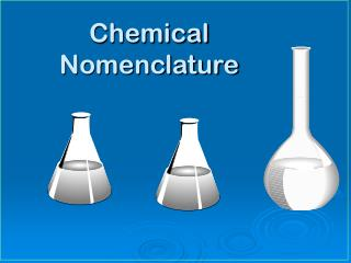 Chemical Nomenclature