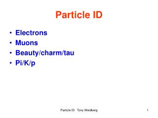 Particle ID