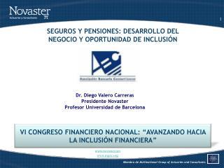 """VI  CONGRESO FINANCIERO NACIONAL : """" AVANZANDO HACIA  LA  INCLUSIÓN FINANCIERA """""""