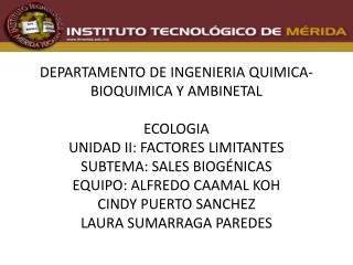 SALES BIOGENICAS